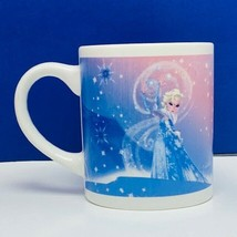 Walt Disney Frozen coffee mug cup Elsa Anna Let it Go winter storm magic... - $16.30