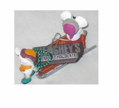 1996 HALLMARK KEEPSAKE HANDCRAFTED TIME FOR A TREAT CHRISTMAS ORNAMENT F... - $7.77