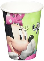 amscan Disney Minnie Paper Cups Birthday Hot & Cold Beverage Drink Dispo... - $14.46
