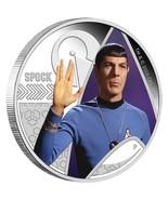 2015 P Star Trek Spock 1oz .999 Silver Proof Coin In Original Mint Packa... - $124.32