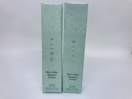 Lot Of 2 Mally Micro Fiber Mascara Primer BLACK .45oz BOXED! - $14.80