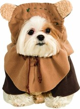 Rubies Star Wars Ewok Teddy Bears Skywalker Dog Pet Halloween Costume 88... - €15,59 EUR