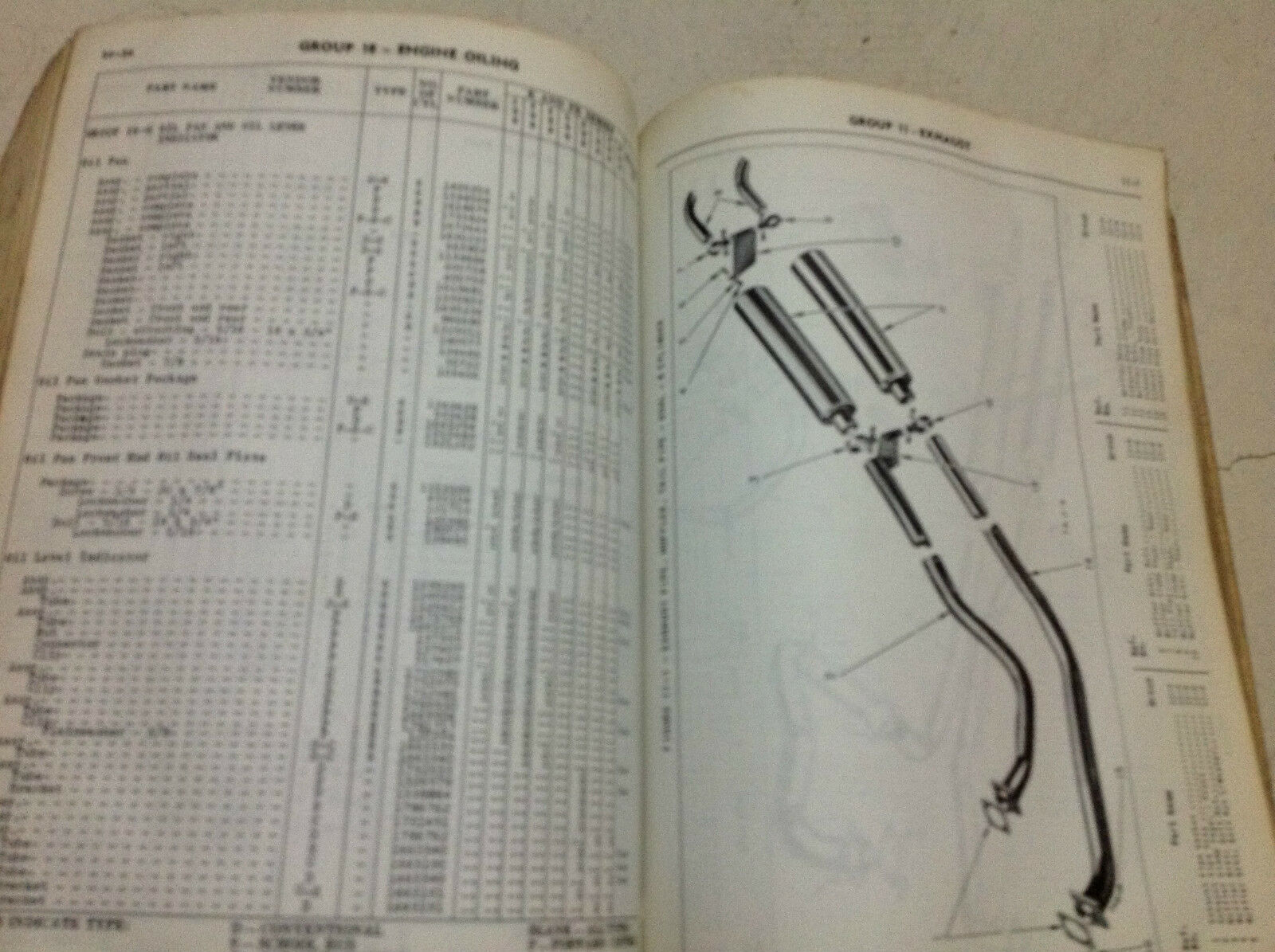 1957 Dodge Truck K FK Serie Teile List Manuell Cdn OEM Fabrik WM 4367 image 2
