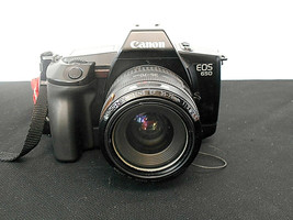 Canon EOS 650, 35 mm Camera w/Canon EF 1:3.5-4.5,  35-70 mm zoom Lens & strap - $98.99