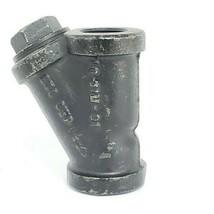 "MUELLER MODEL 11 CAST IRON STEAM Y STRAINER, 1"", 250SWP, 1.0-11M-01 image 2"