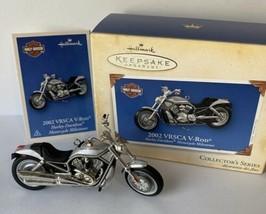 2002 Hallmark Keepsake Ornament Harley-Davidson Series VRSCA V-Rod 6th Mint - $11.75
