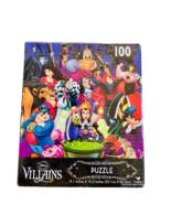 """Disney Villains Jigsaw Puzzle 100 Pcs Kids Toy 9.1"""" x 10.3"""" NEW - $14.84"""