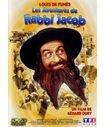 The Mad Adventures of Rabbi Jacob LOUIS DE FUNES  Miou-Miou  ALL REG SEA... - $19.90