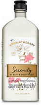 Bath & Body Works Aromatherapy Serenity Body Wash & Foam Bath 10oz New - $19.20