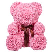 """26"""" Pink Forever Rose Bear for Anniversary Wedding Girlfriend Mother's Day - $490.99"""