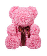 "26"" Pink Forever Rose Bear for Anniversary Wedding Girlfriend Mother's Day - $490.99"