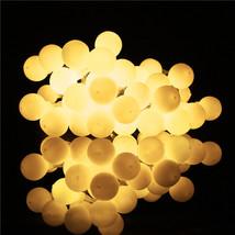 (40 LED white warm)10 LED Battery Operated Heart Shaped Christmas String... - $20.00