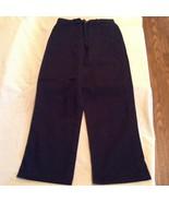 Size 14 Reg George uniform pants dark navy flat front boys   - $13.59