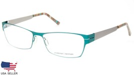 NEW PRODESIGN DENMARK 6129 c.9521 GREEN EYEGLASSES FRAME 53-16-140 B31mm... - $113.83