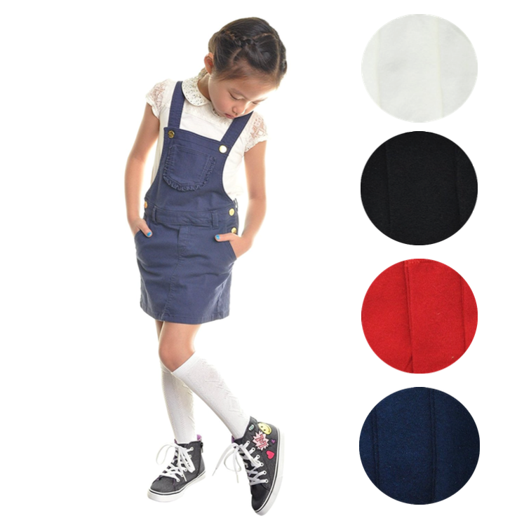 12 Pair Dozen Girls Premium Cotton Knee High Socks Multiple Colors