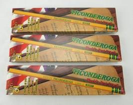 Dixon Ticonderoga 13882 #2 Soft Pencils - Lot of 3 - $16.49