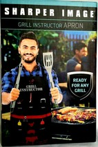 Grill Instruction Apron For Outdoor Grilling/Barbecue Best Gag Funny Gift  - $16.97