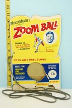 1960's Mickey Mantle's Zoom Ball Baseball Toy Package & String Toplay No... - $94.05