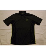Nike Golf Shirt Men's Size M Solid Grey Golf Shirt Polyester Blend Dri-Fit - $5.53