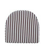 PANDA SUPERSTORE Stripe Cushion Lovely Cushion Office Chair Pad Soft Tat... - $23.39