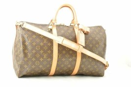 LOUIS VUITTON Monogram Keepall Bandouliere 50 Boston Bag Auth sa2342 - $1,860.00