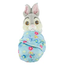 Disney Parks Baby Thumper in a Blanket Pouch Plush New with Tags - £24.67 GBP