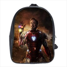School bag 3 sizes china iron man endgame avengers - $39.00+