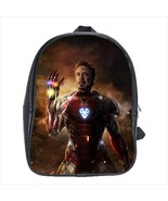 School bag 3 sizes china iron man endgame avengers - $39.00+