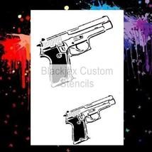 45 Automatic Pistol Design  Airbrush Stencil,Template - $9.49
