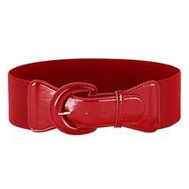 Ladies Vintage Western Decorative Waistband Belts (L, Red) - $14.65