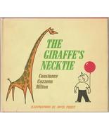 The Giraffe's Necktie 1969 Constance Cozzens Milton Joyce Priest Hardcover - $12.86