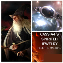 Haunted RING POWERFUL MEDIEVAL WIZARD SPIRIT VESSEL ONYX MAGICK Cassia4  - $43.11
