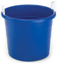 Homz Plastic Utility Tub with Rope Handles, 17 Gallon, Cobalt Blue, Set ... - €35,10 EUR