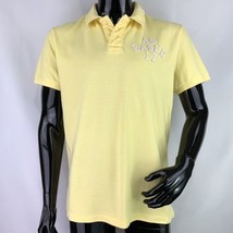 American Eagle Mens Large Athletic Fit Yellow Short Sleeve Polo Shirt - $268,78 MXN