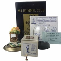 1991 M.I. Hummel Club Bavarian Bandstand And Morning Concert Miniatures ... - $37.23
