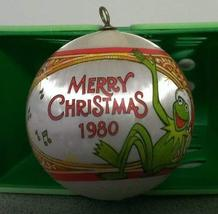 1980 Hallmark Ornament - Muppet Miss Piggy & Kermit - $34.65