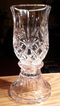 Hurricane Lamp Candle Holder 24% Lead Crystal PartyLite Savannah Wedding... - $42.52