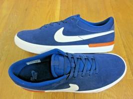 Nike SB Mens Koston Hypervulc Blue Void White Suede Skate Shoes Size 11.... - $59.39