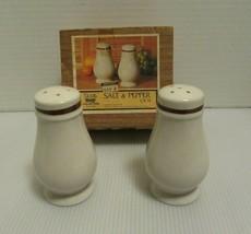 NOS DeVille Capri Collection By Jon Paul Stoneware Salt & Pepper CS-11-Japan IOB - $19.95
