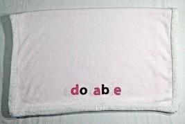 CARTER'S Baby Girl ADORABLE Light Pink Blanket Fleece White Trim 30x40 L... - $16.55