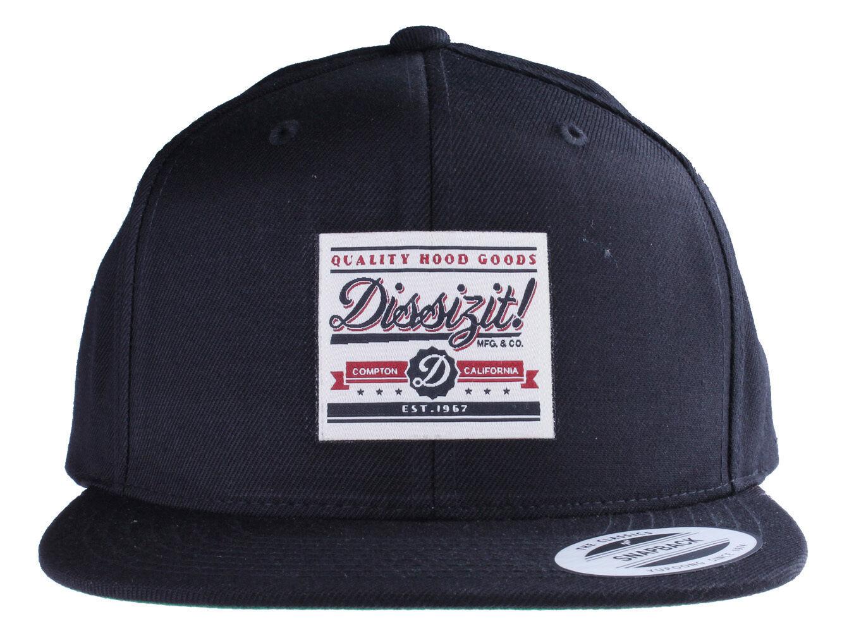 Dissizit! Qhg Qualità Cappuccio Goods Yupoong Cappellino Baseball SBC13-796 New