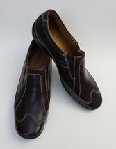 Natural Soul Naturalizer Shoes Flats Brown Slip On Flor Womens Size 9 M - $44.51