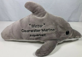 "WINTER Dolphin Tale No Tail Plush CLEARWATER MARINE 13"" Movie Aquarium GREY - $12.86"