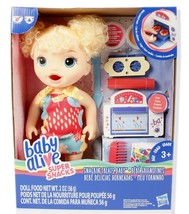 Hasbro Baby Alive Snackin' Treats Baby with Blonde Curly Hair - $29.44