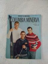 VINTAGE COLUMBIA MINERVA MENS BOOK #734,KNIT CROCHET CLASSIC SWEATER PAT... - $7.80