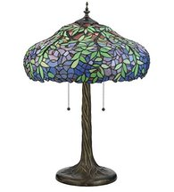 "Meyda Tiffany 119674 Duffner & Kimberly Laburnum Table Lamp, 26"" H - $689.40"