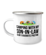 Camping Mug From Son-in-law, Funny Camper Mug From Son-in-law, Stainless... - $17.95