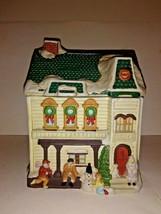 Christmas Cookie Jar Ceramic New House Cookie Jar  - $19.80
