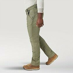 Wrangler All Terrain Gear Utility Pants 5 Pocket Straight Fit SEA GRASS 36X34