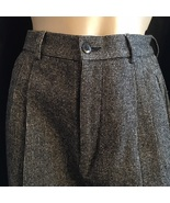 Banana Republic Black & White print wool blend career pants 2 - $34.95